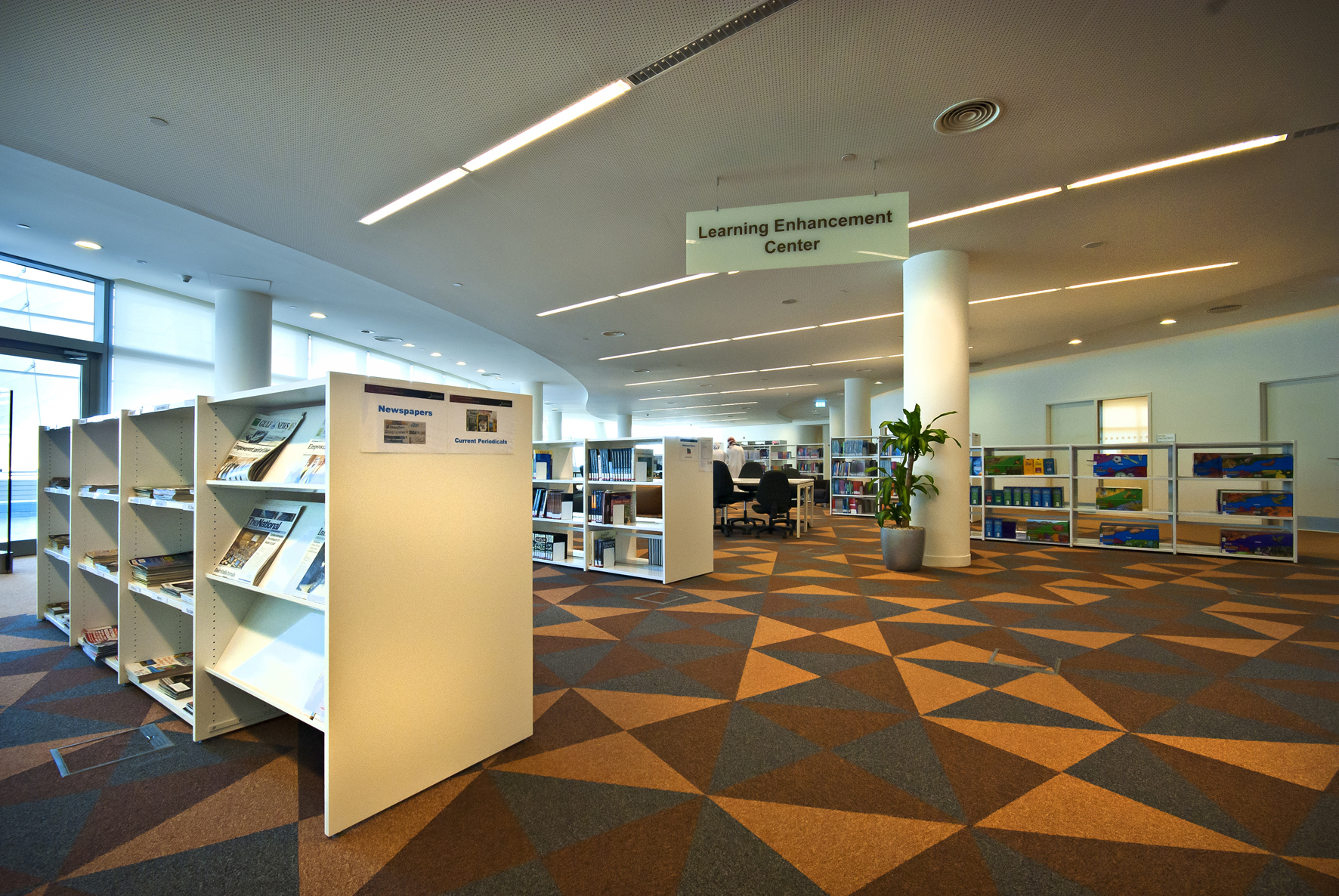 High Quality Zayed University Academic Library, United Arab Emirates   Academic Libraries