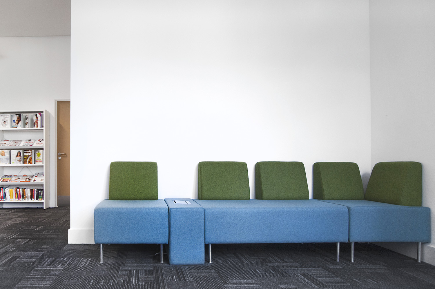 Modular Sofa System. Greenwich Public Library, UK