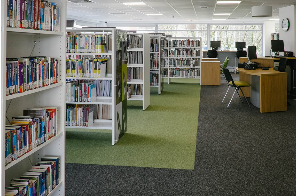 Plymouth Central Library, UK - Public libraries
