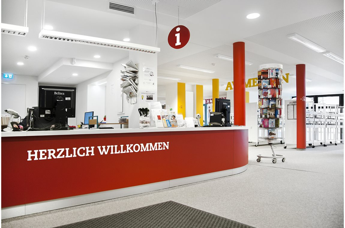 Achim Public Library, Germany - Public libraries