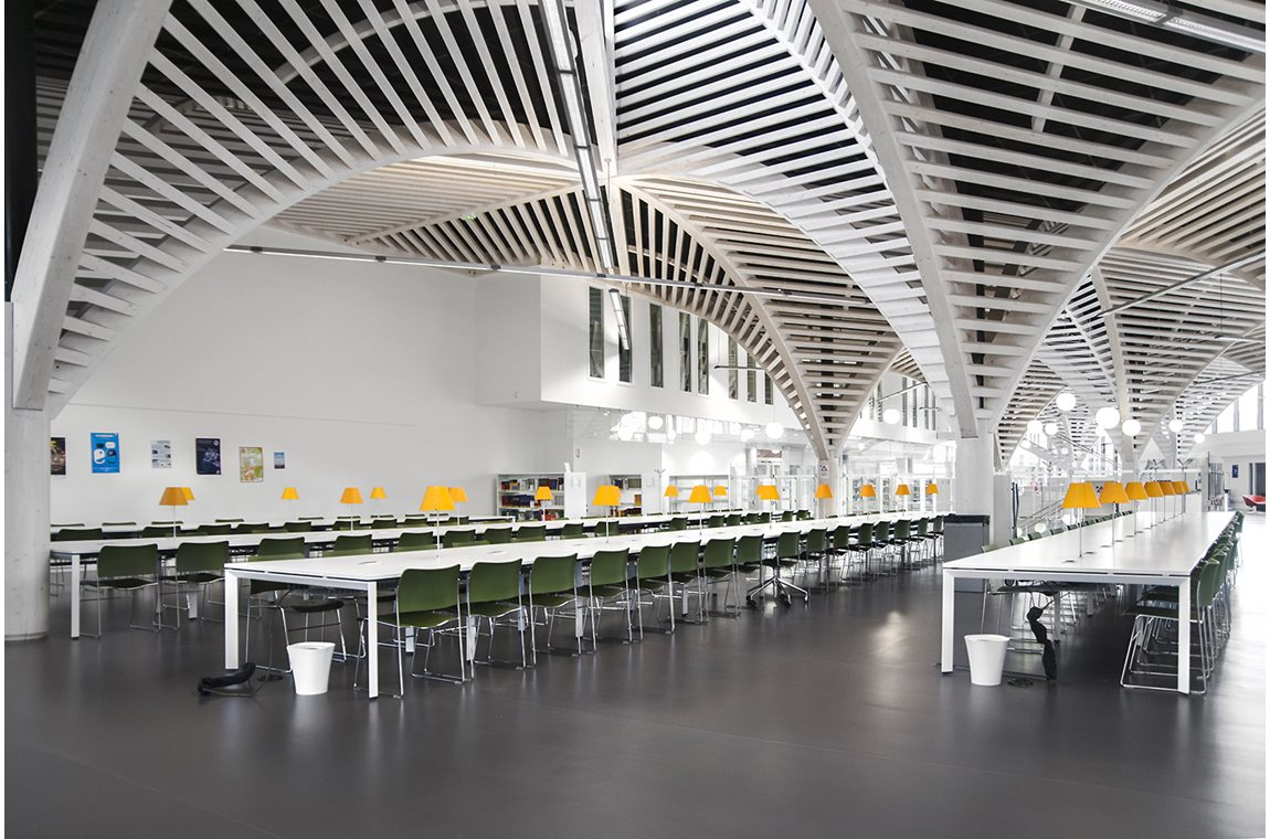 Caen University Library, France - Academic libraries