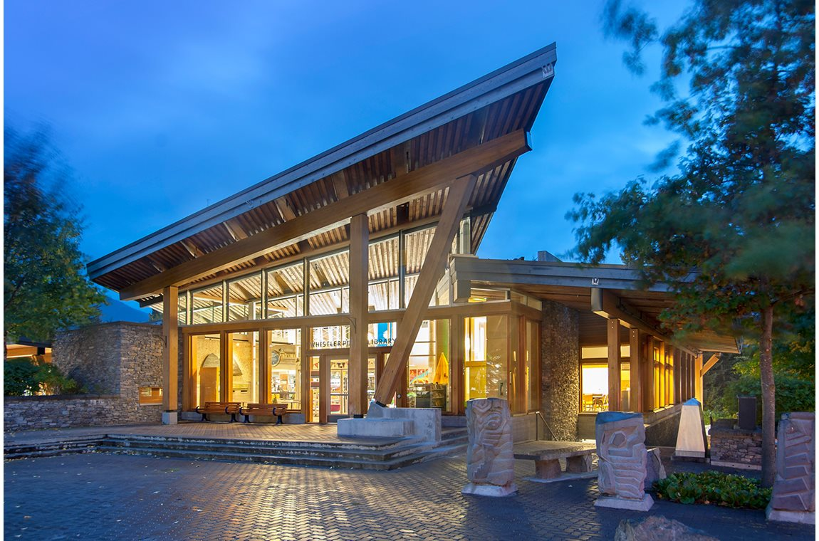 Whistler Public Library, Canada - Public libraries