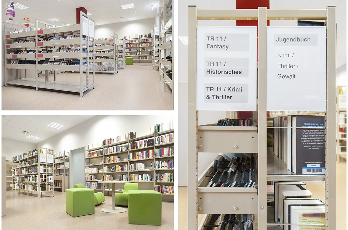 Dresden Neustadt Public Library, Germany - Public libraries