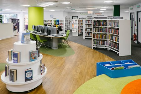 Plymouth Central Library UK