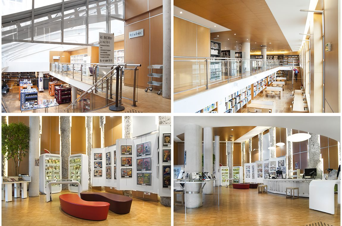 Sevres Public Library, France - Public libraries
