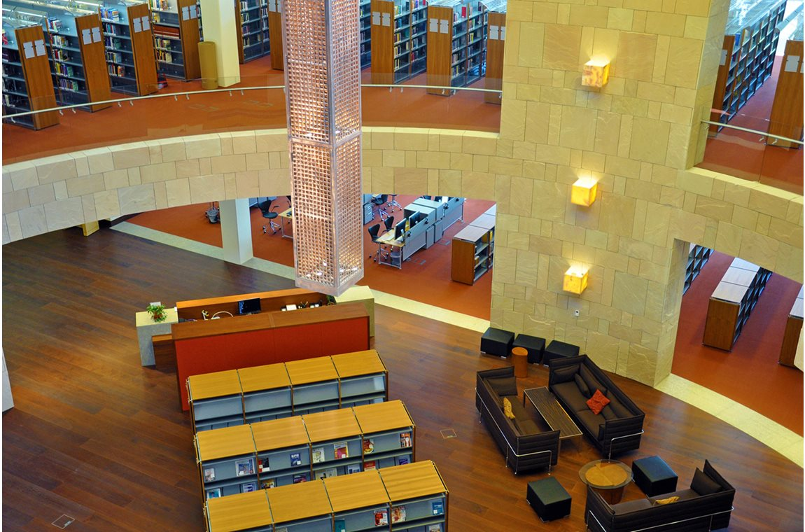 Georgetown University School of Foreign Service, Qatar  - Academic libraries