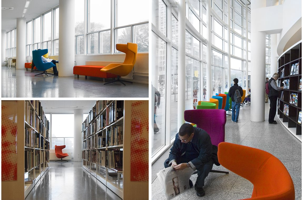 Den Haag Central Library, Netherlands - Public libraries