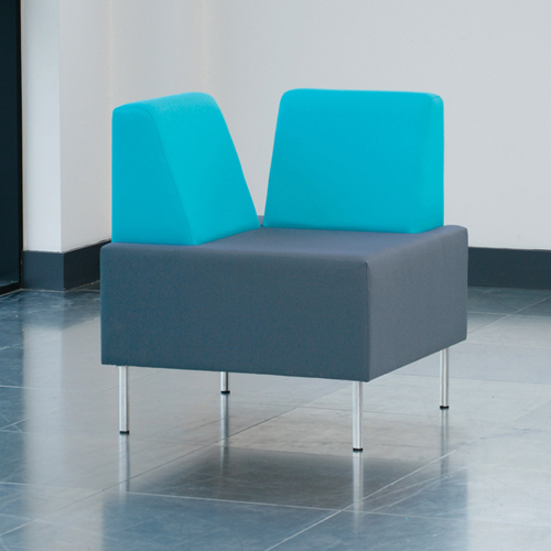 T501151 - corner chair, no arms
