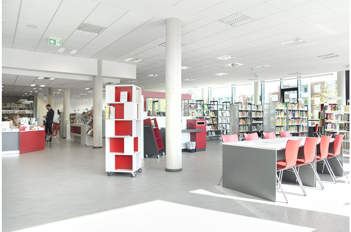 Mühlenberg Public Library, Germany - Public libraries