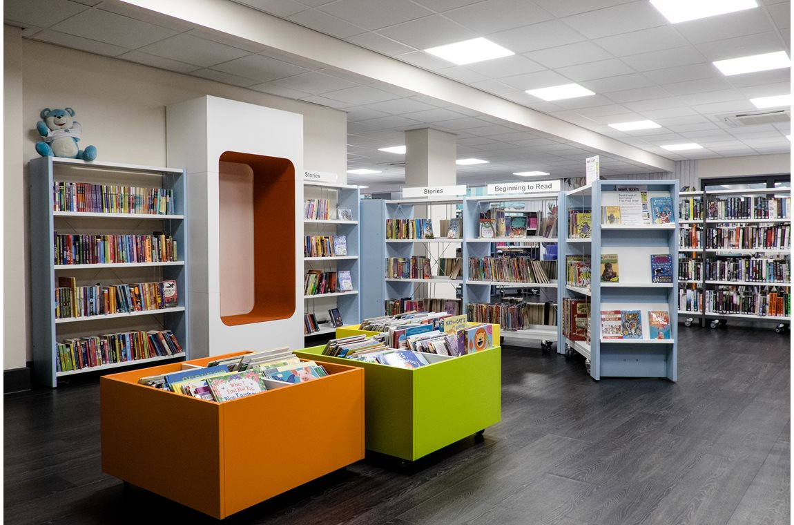 The Dales Centre, Nottingham, United Kingdom - Public libraries