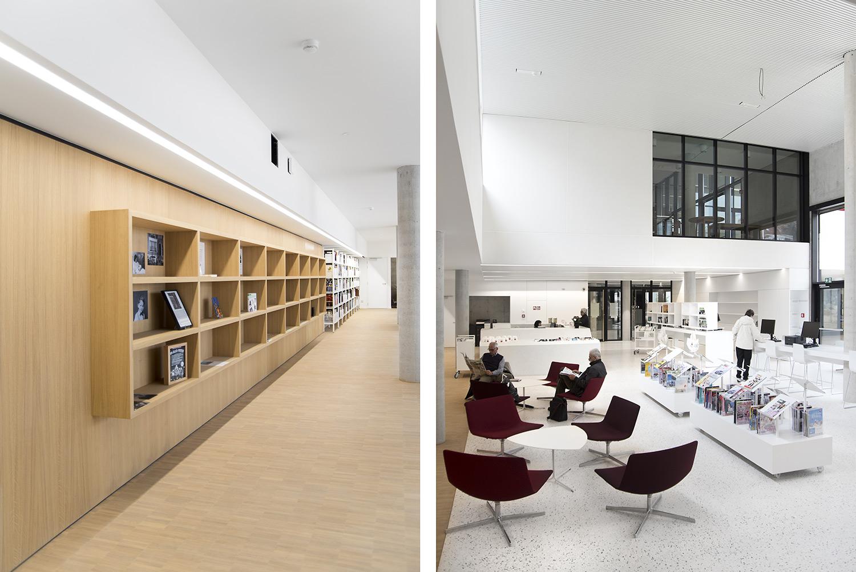 Elegant Zaventem Public Library, Belgium   Public Libraries