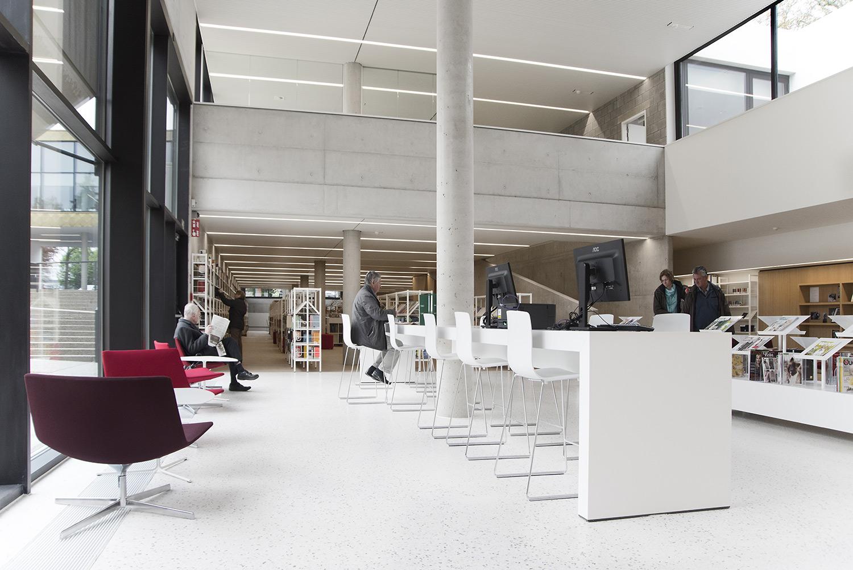 Lovely Zaventem Public Library, Belgium   Public Libraries