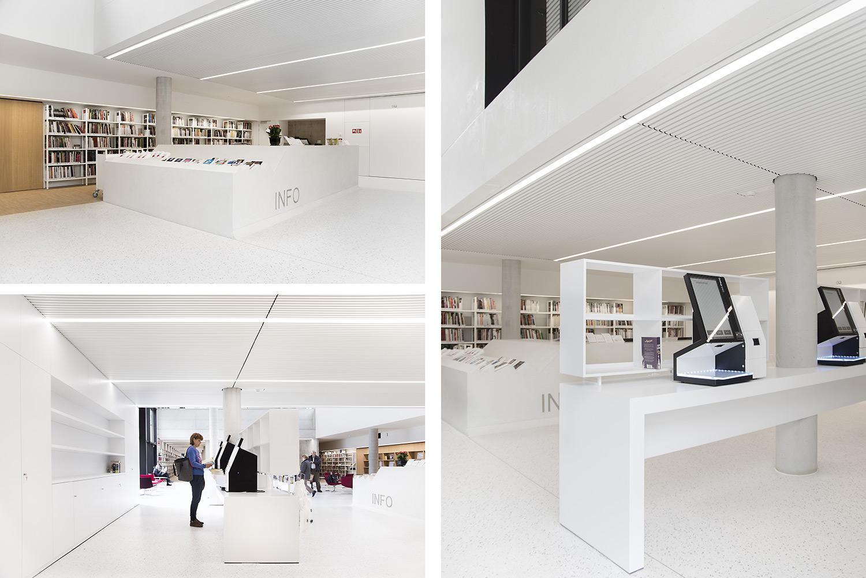 Beautiful Zaventem Public Library, Belgium   Public Libraries