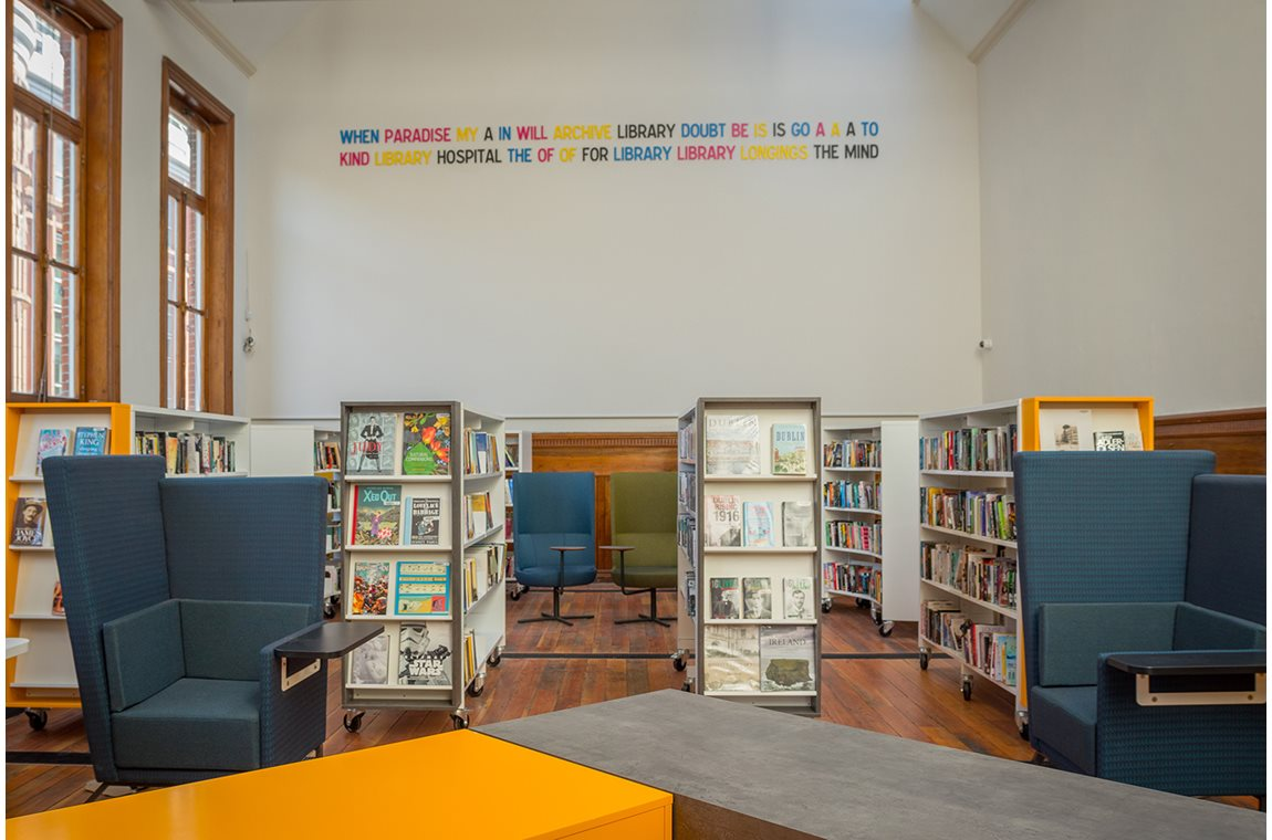 Kevin Street Library, Dublin, Ireland - Public libraries