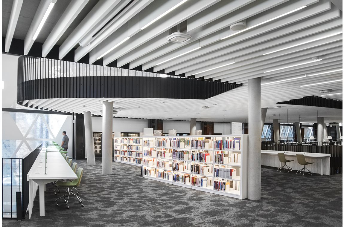 University of Luxembourg, Campus Belval, Luxembourg - Academic libraries