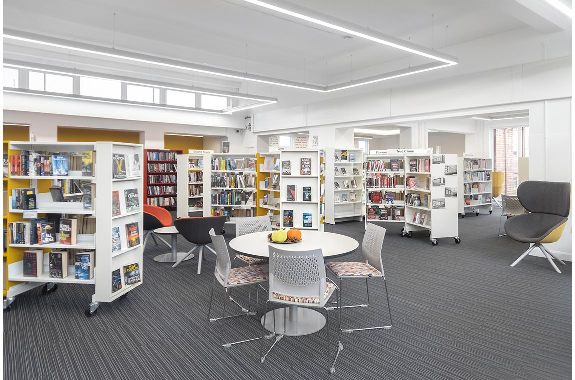 Castlemilk Public Library, United Kingdom - Public libraries