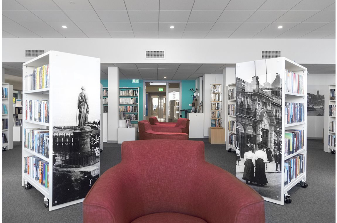 Dunoon Public Library, United Kingdom - Public libraries