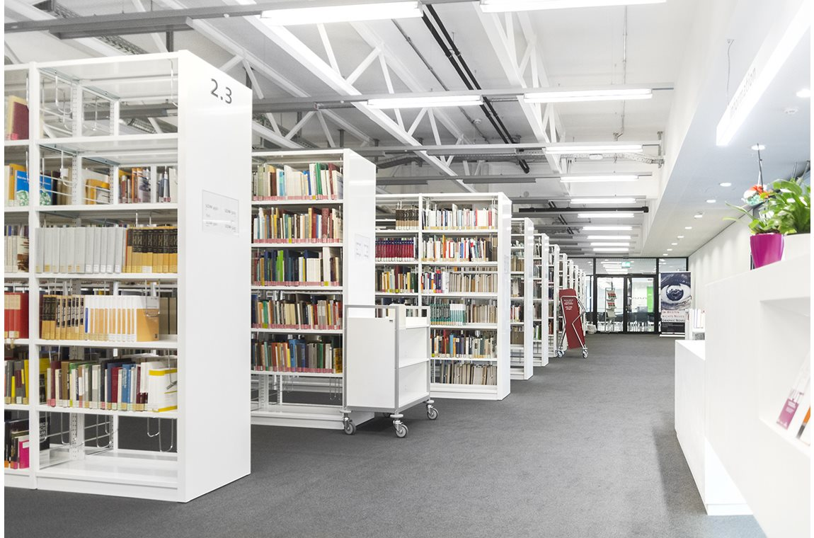 Munich Military Training Academy, Germany - Academic libraries