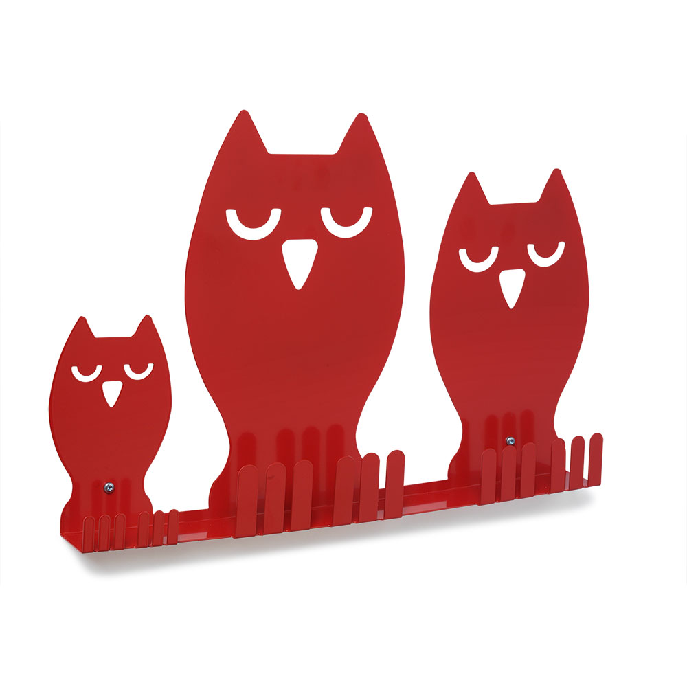 E3391 - Owl Family Display Rail