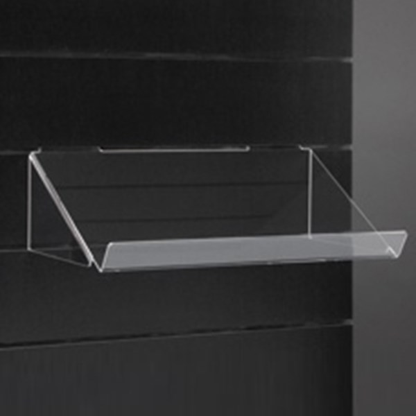 Tilted Shelf Display