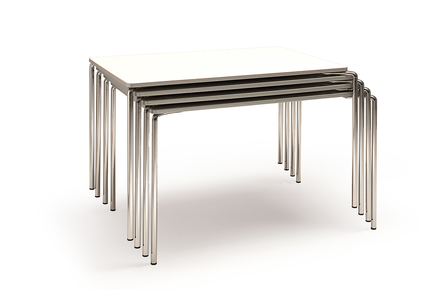 . clip  stackable table